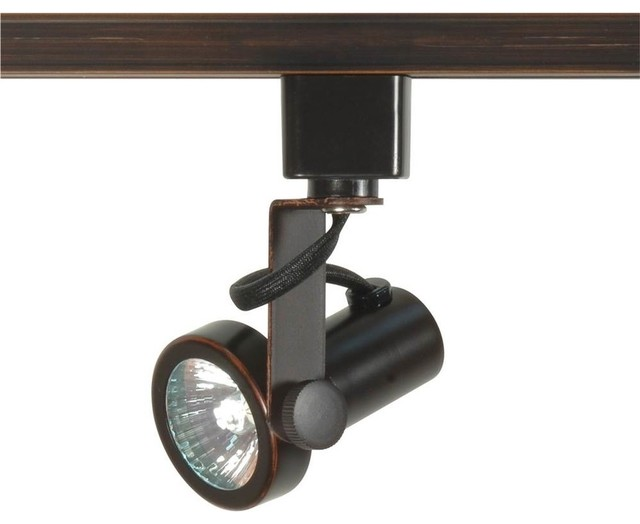 1 Light Mr16 Gimbal Ring Track Head Transitional Track Heads And Pendants By Satco Lighting