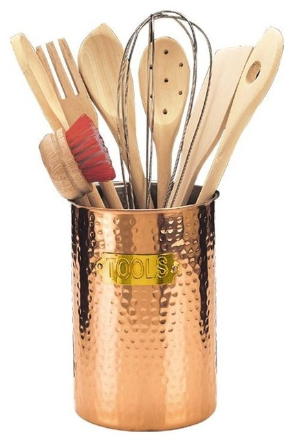 Exceptional 9 Piece Copper Hammered Tool Set