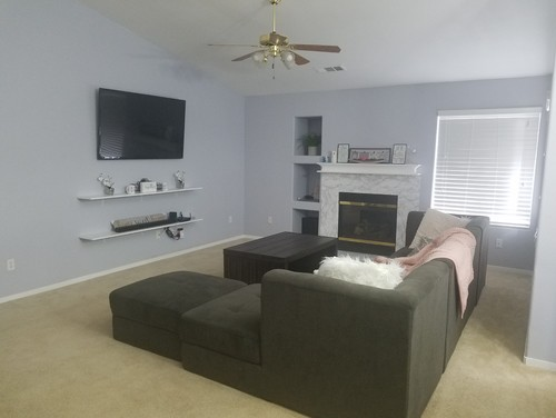 Need Help Deaign My Livinhroom So It Feels More Homely Please.