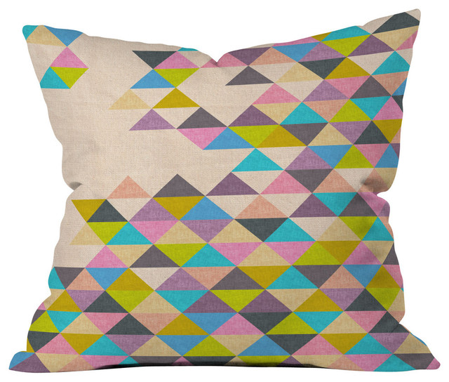 All Modern Outdoor Pillows : Deny Designs - Bianca Green Completely Incomplete Outdoor Throw Pillow & Reviews Houzz