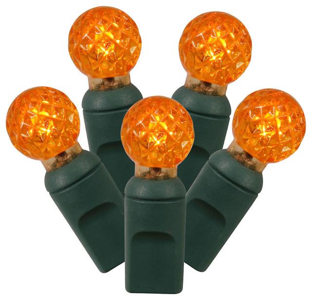 100lt Orange Led / Green Wire G12 Ec 4 In X 34 Ft..