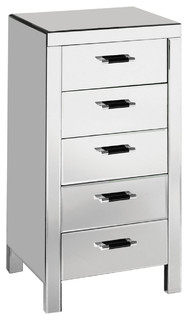 Vincenzo Mirrored Chest of Drawers