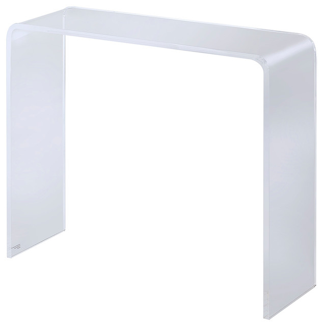 Terron Acrylic Console Table