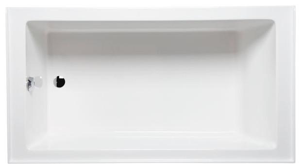 Turo 7236 Left Hand, Tub Only, White.