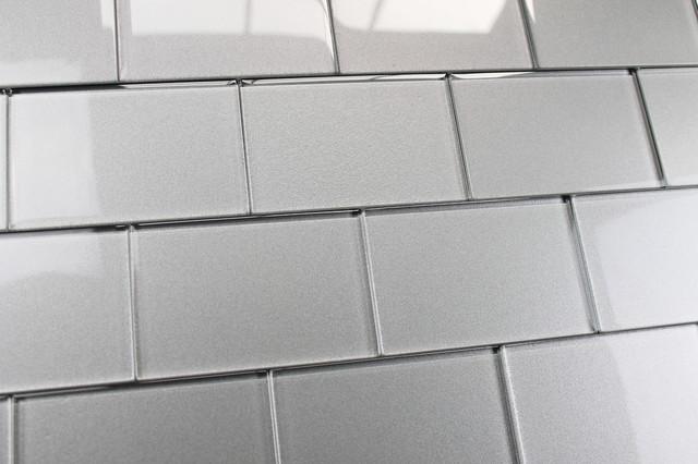 X White Subway Tile Shower - 4 x 6 tile shower