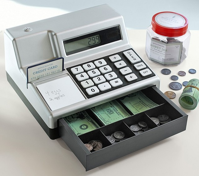 Cash Register Amp Play Money Kids Toys And Games San