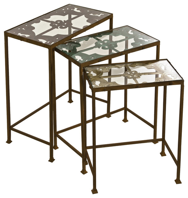 Torry Nesting Tables, Set Of 3.