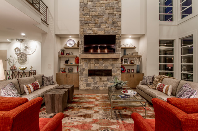 Inspiration for a contemporary home design remodel in Little Rock
