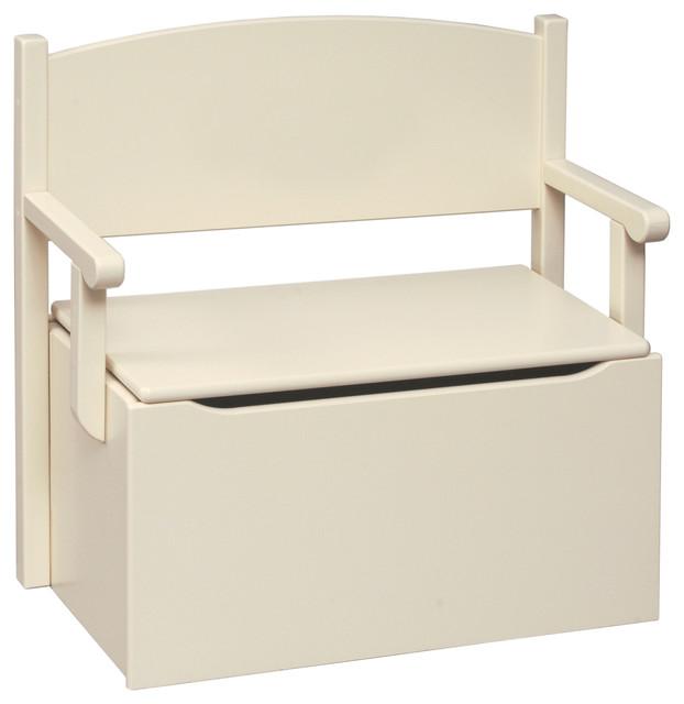Kids Storage Bench Part - 47: Bench Toy Box, Linen Finish, Apple Green Font, A, Cooper Black Beach