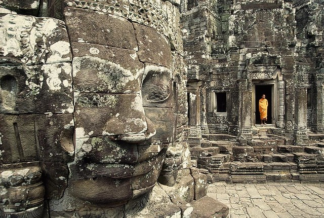 Shop Houzz | Magic Murals, LLC Buddhist Monk at Temple ...