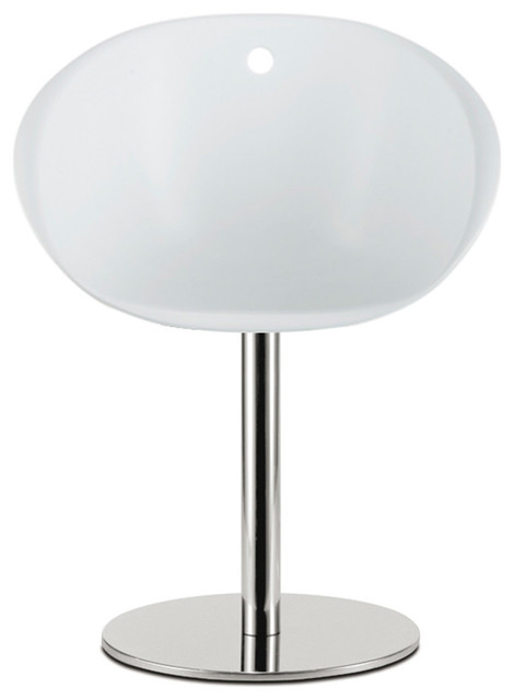 Pedrali Gliss Pedestal Base SwivelChair, White Opaque