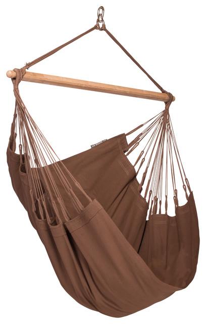 Traditional Swing For Living Room: LA SIESTA Modesta Hammock Chair