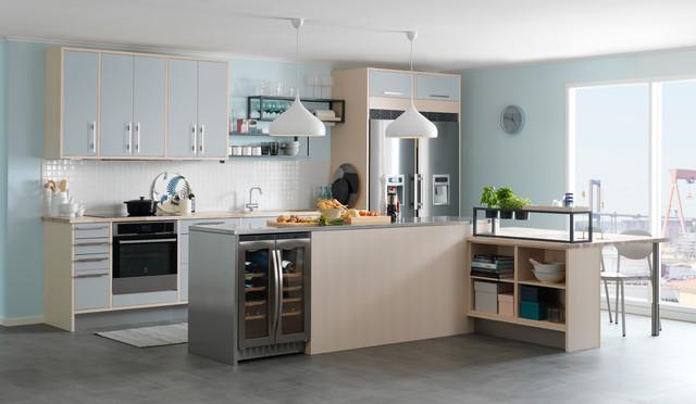 avintage inbyggbar vinkyl av41sxdp modern k k malm av. Black Bedroom Furniture Sets. Home Design Ideas