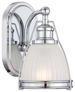 Minka lavery 5791 77 1 light bath transitional bathroom vanity lighting by lighting front for Transitional bathroom lighting