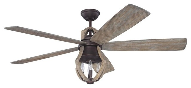 Winton ceiling fan aged bronze and weathered pine farmhouse winton ceiling fan aged bronze and weathered pine aloadofball Gallery