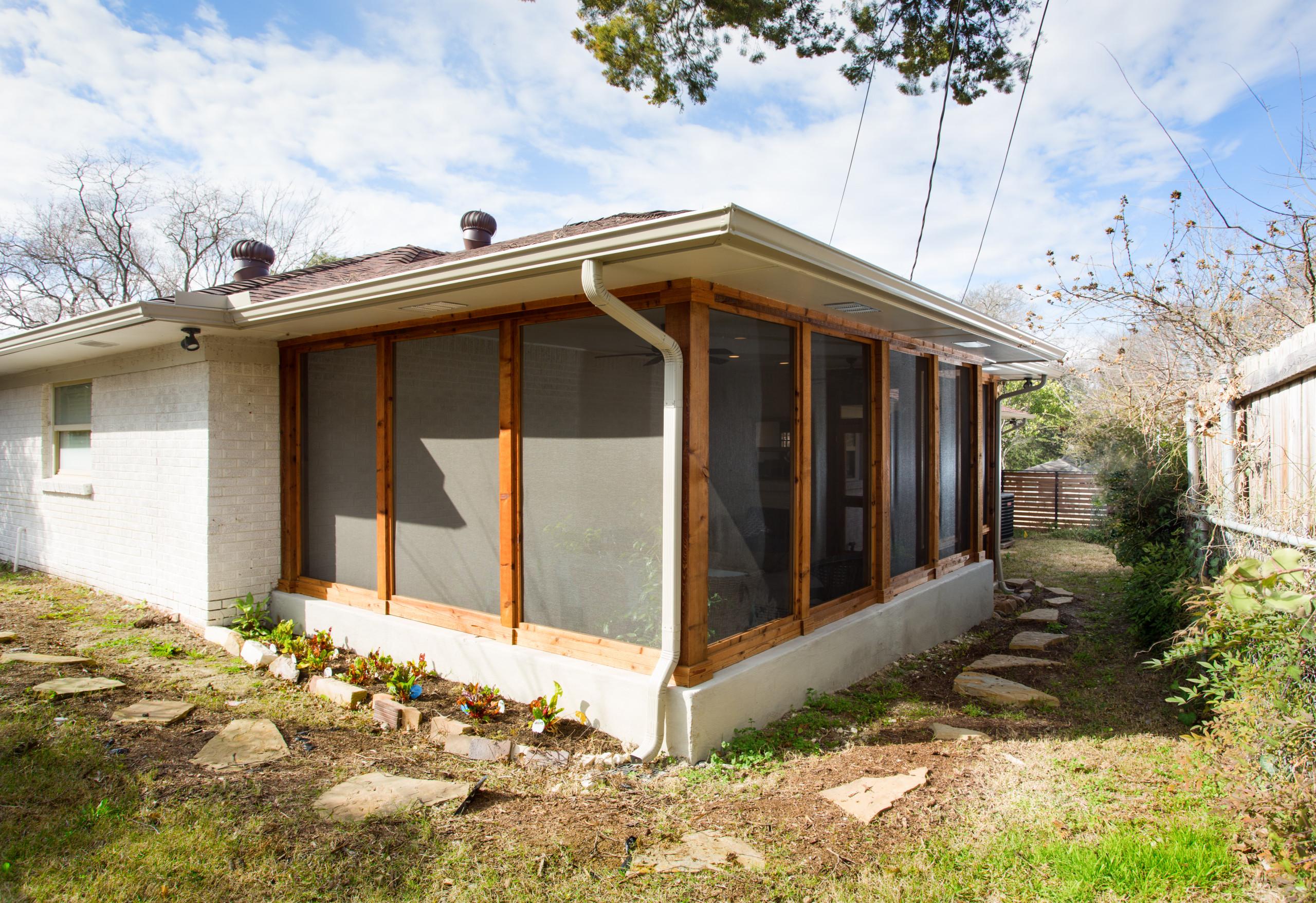 Cozy Cedar Screened Porch