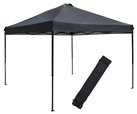 10&x27;x10&x27; Outdoor Pop Up Shade Instant Folding Canopy With Roller Bag.
