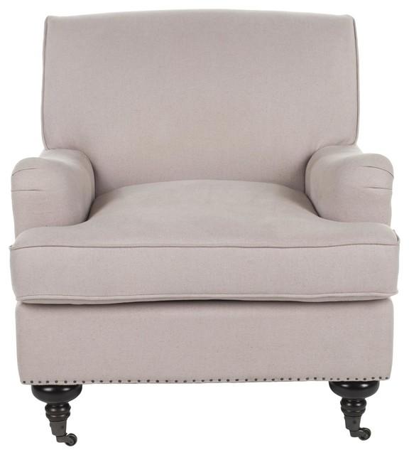 Chloe Club Chair - Dark Gray