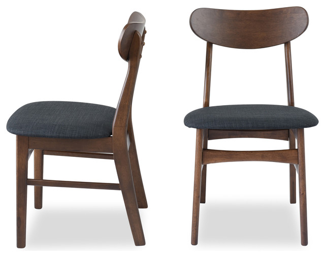 Fine Gramercy Mid Century Modern Dining Chair Set Of 2 Lamtechconsult Wood Chair Design Ideas Lamtechconsultcom