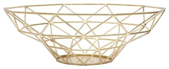 Miki Decorative Metal Basket