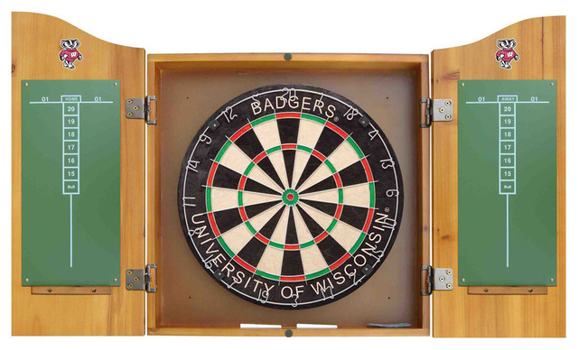 ... and Cabinet - Contemporary - Darts And Dartboards - by Team Sports