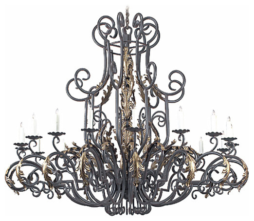 Cordoba Wrought Iron Chandelier