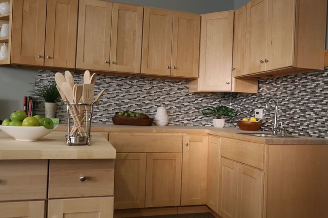 Findley & Myers Soho Maple Kitchen Cabinets - Detroit - by ...
