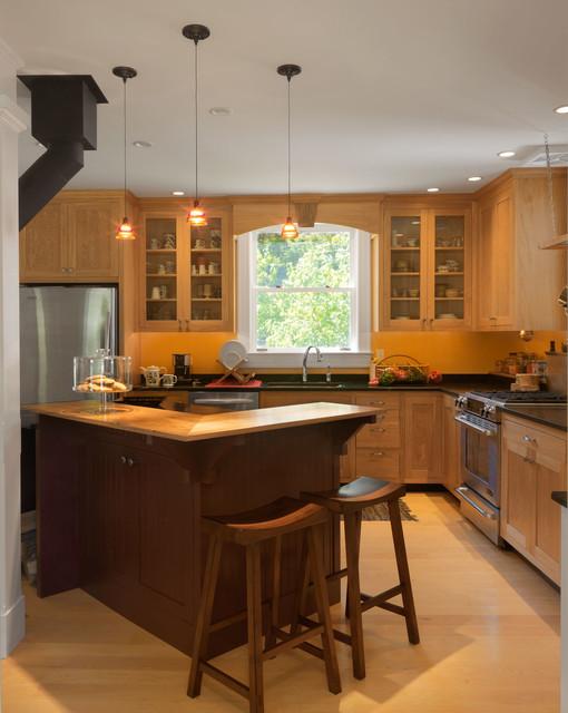 Victorian kitchen in village home traditional for Traditional victorian kitchen designs