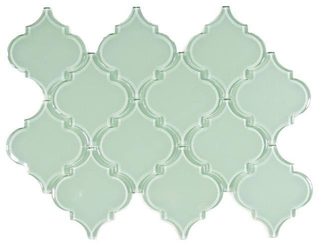 surf arabesque glass tile sample moderntile