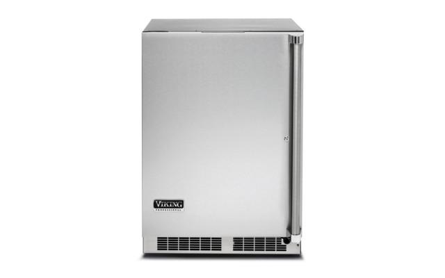 Viking 24 Wide Outdoor Refrigerator, Left Hinge.