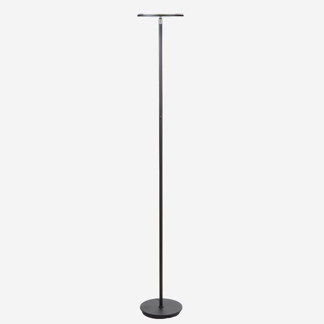 Brightech SKY LED Torchiere Floor Lamp, Black
