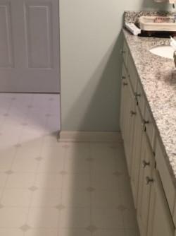 Ready To Replace Linoleum Bathroom Floor