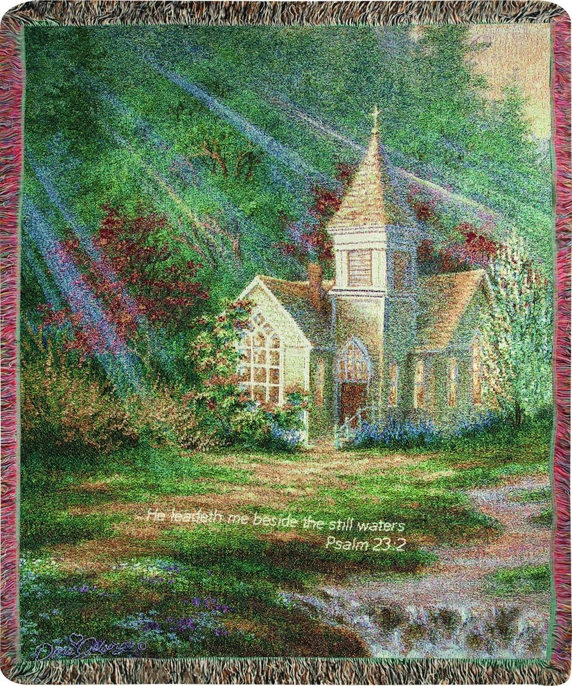 Be Still With Verse Dg 50 X60 Tapestry Traditional Tapestries By Uber Bazaar