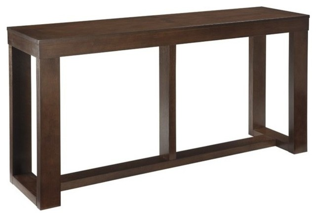Ashley Watson Console Table Dark Brown Transitional Tables