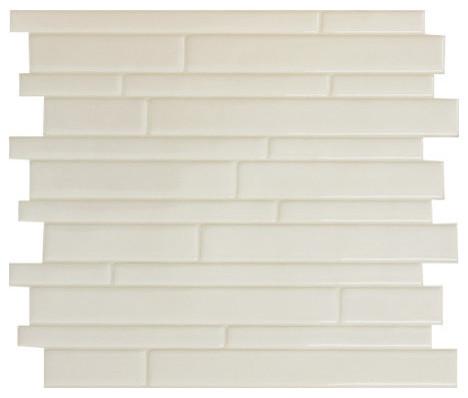 Contemporary Wall Tile smart tile milano avorio peel and stick 3d gel-o wall tiles mosaik