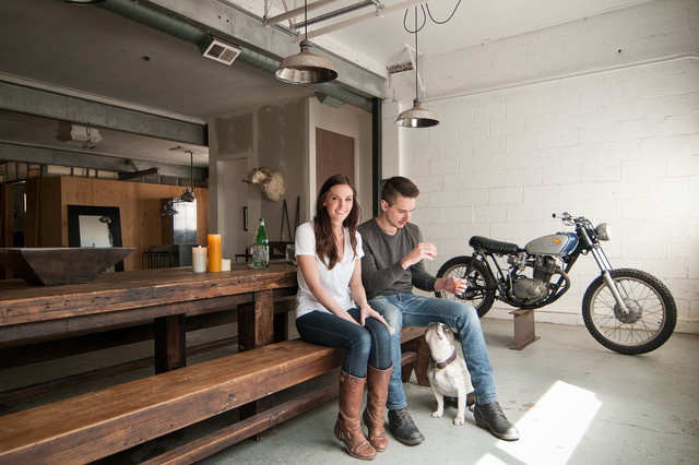 My Houzz: From Raw Space to Hip Home in a Converted Utah Garage