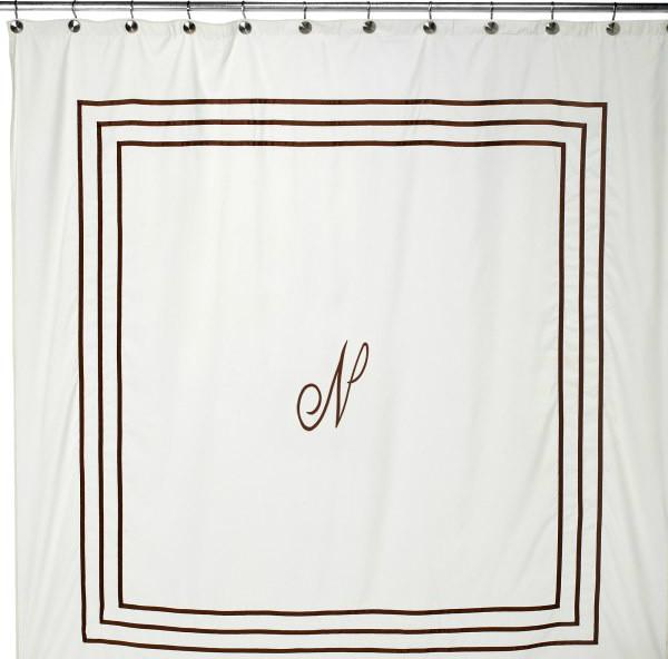 aussino monogram shower curtain shower curtains aussino monogram shower curtain shower curtains
