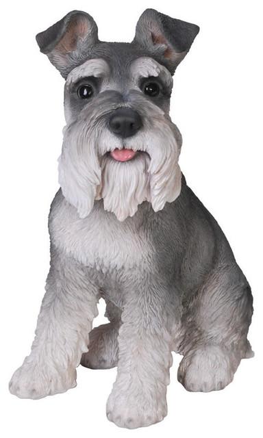 Miniature Schnauzer Dog Garden Statue 1375 Transitional