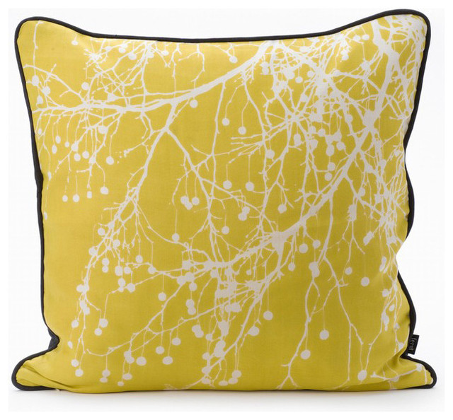 Ferm Living - Tree Bomb Down Pillow Curry