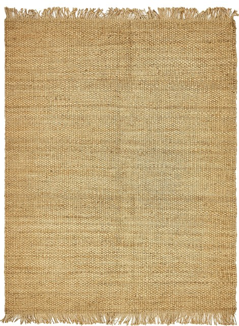 Unique Loom Chunky Jute Rug Beach Style Area Rugs By