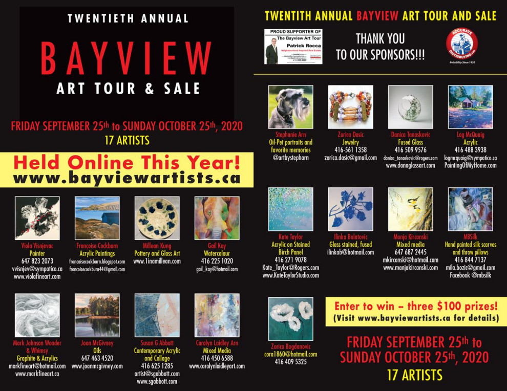Bayview Art Tour 2020