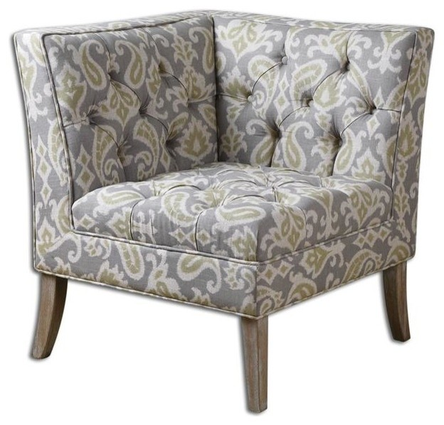 Meliso Corner Chair by Uttermost