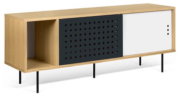 Credenza Dann : Dann dots sideboard small oak contemporary buffets and