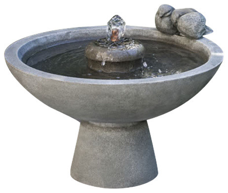 Paradiso Garden Water Fountain Rustic Outdoor Fountains And Ponds By Tuscan Basins