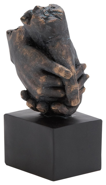 Hands Held Tightly Sculpture.