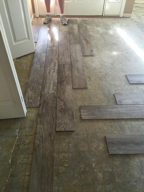 - Orientation Of Wood Plank Tile?