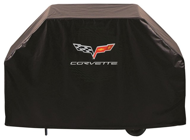 "72"" Corvette C6 Black Grill Cover By Holland Bar Stool Co.."