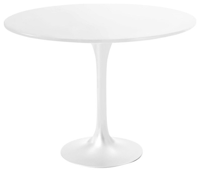 Saarinen Round Dining Table White Laminate Top Dining Tables By - Saarinen table white laminate
