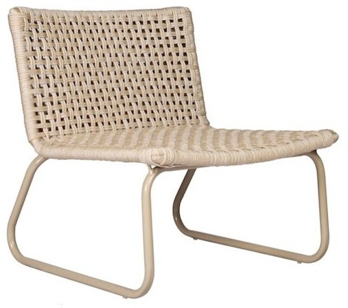 marina lounge chair beige