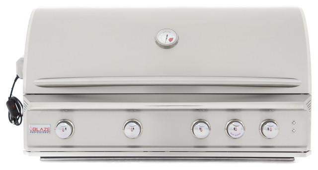 Blaze 4-Burner Professional Built-In Propane Gas Grill.